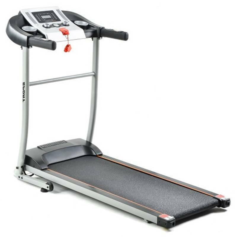 USA Gym Running Folding Treadmill with Safety Lock, LCD Monitor,