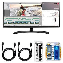 "LG 21:9 QHD IPS 34"" Monitor  with Xtreme Performance TV/LCD"