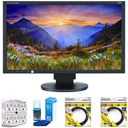 NEC 23-Inch Screen LED-Lit Monitor 1920x1080  with 2x 6ft Hi