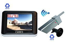 3.5-inch Magnetic Portable Wireless Camera System Rechargeab