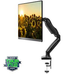 Mountio Full Motion LCD Monitor Arm - Gas Spring Desk Mount