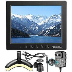 """Neewer NW801H 8"""" Monitor for DSLR, PC, CCTV Camera, DVD and"""