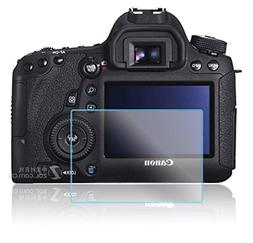 PCTC Canon EOS 6D Tempered Glass Screen Protector Skin Film