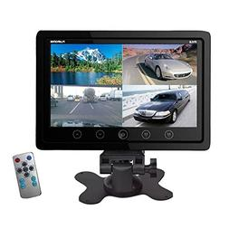 Pyle PLHRQD9B 9-Inch Quad TFT/LCD Video Monitor with Headres