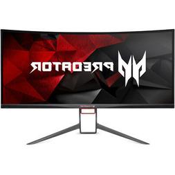 "Acer Predator Gaming X34 Pbmiphzx Curved 34"" UltraWide QHD M"