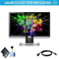 """Dell SE2216HV 21.5"""" 16:9 LCD Monitor with HDMI Cable"""