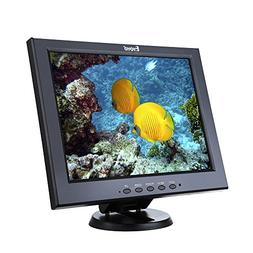 Eyoyo 12 Inch Color Security CCTV Monitor 800X600 4:3 Video