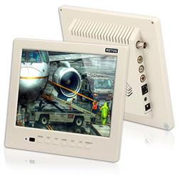 "CCTV Monitor, BNC, Speaker, ZOTER 8"" inch Portable Audio LCD"