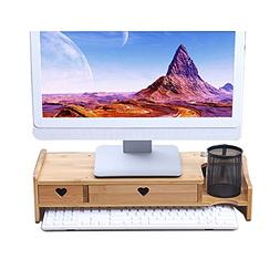 LQQGXL Storage and organization LCD Computer Monitor Added S