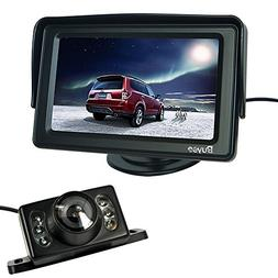 """Buyee 4.3"""" TFT LCD Rear view Monitor and Night Vision Car Re"""
