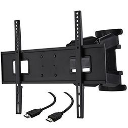 Cattail TV Wall Mount Bracket With Full Motion Swing Out Til