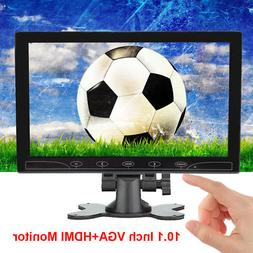 HD Ultra Thin 10.1'' 1024*600 TFT LCD HDMI VGA Audio Video C