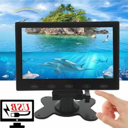 US 7'' Ultra Thin 800*480 TFT LCD Video Audio VGA HDMI HD Mo