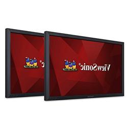 ViewSonic VG2449_H2 24 Inch Dual Pack Head-Only 1080p LED Mo