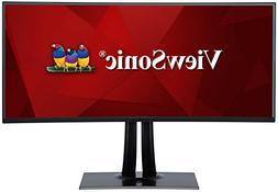 "ViewSonic VP3881 38"" PRO UltraWide Curved Monitor USB Type C"
