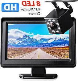 Wireless Car Backup Camera Rear View System w/ Night Vision